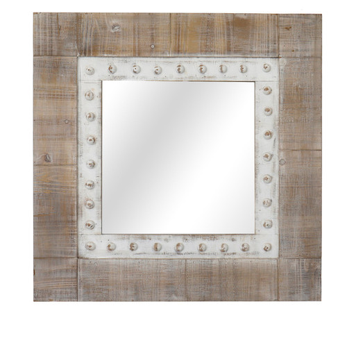 Squared Away Cottage Mirror