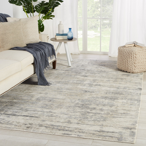 Grey Retreat Area Rug by Barclay Butera room view