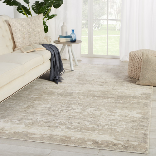 Taupe Retreat Area Rug by Barclay Butera room view