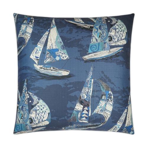 Islander Sail Nautical Luxury Pillow