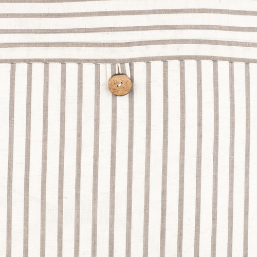 Penzance Resort Striped 18 x 18 Pillow buttom close up