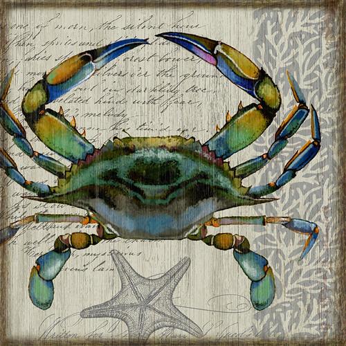 Blue Crab I Wall Art