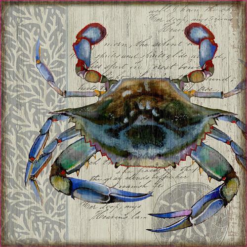 Blue Crab II Wall Art