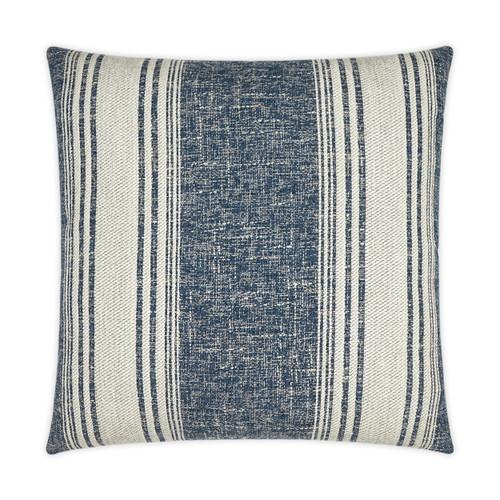 Luxury Balboa Indigo Striped Pillow