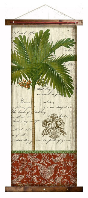 French Palm I Canvas Tapestry Wall Art