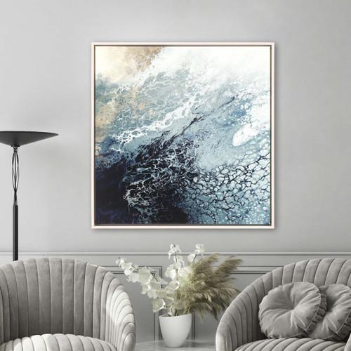 Aveta Blue Splash Art room view example
