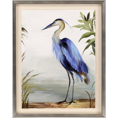 Majestic Blue Heron Art