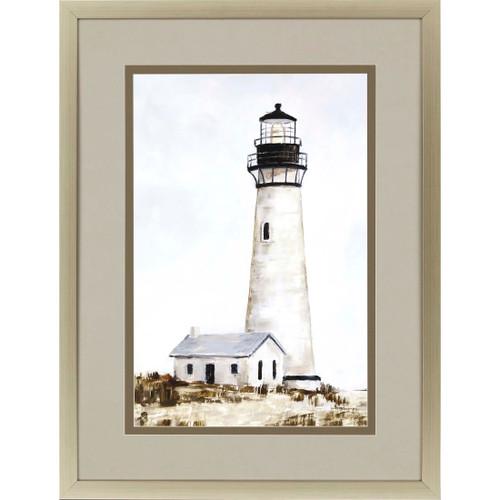 Rustic Lighthouse II Print