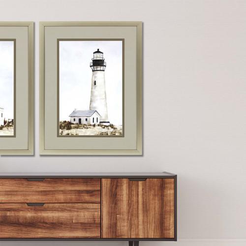 Rustic Lighthouse II Print room example