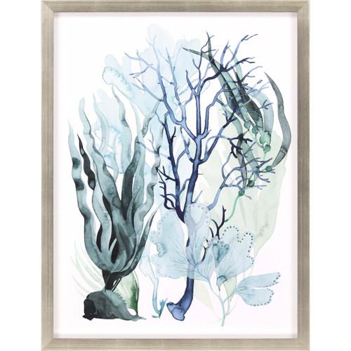 Sea Leaves IV Shadow Box Framed Art