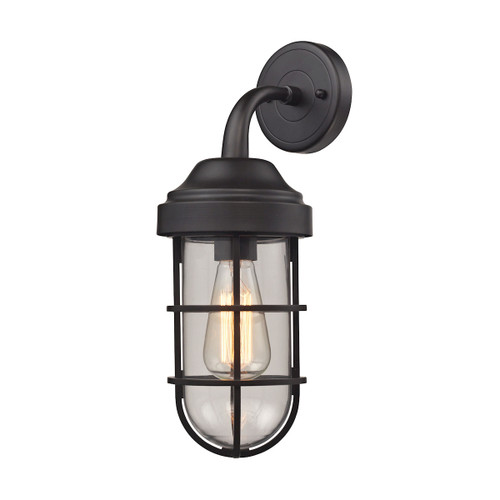 Seaport I Oil Rubbed Bronze Wall Sconce