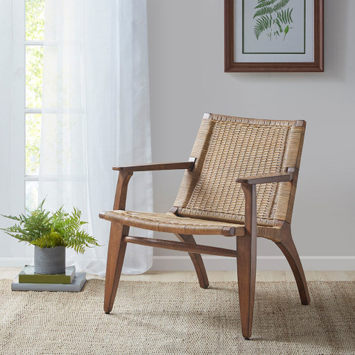 Clearwater Rattan Accent Chair room view