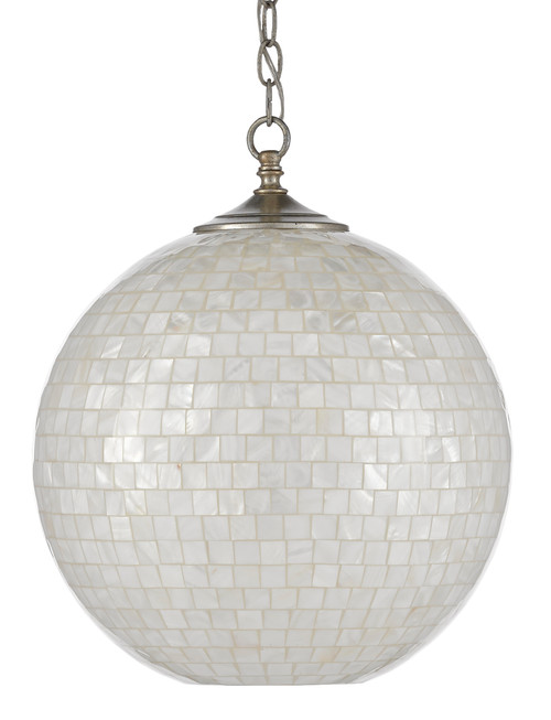 Finhorn Mother of Pearl Pendant light off