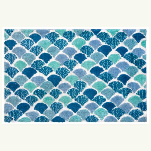 Mermaid Tiles Accent Rug