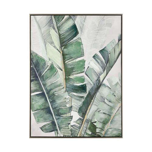 Musa 1 Framed Canvas Art