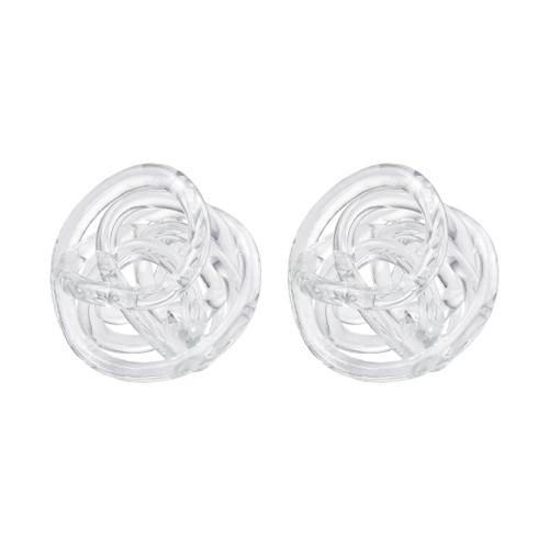 In a Tangle Decorative Glass Knots