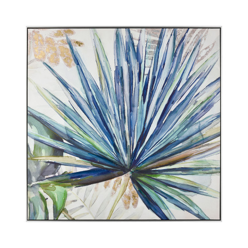 Garden Palm Framed Wall Art