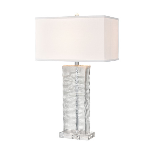 Arendell Wave Clear Table Lamp