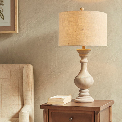Carra Cottage Table Lamp light on