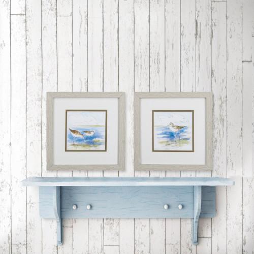 Ocean Shore Birds Watercolor Prints-room example