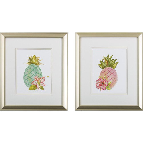Tropical Pineapple Paradise- Set of Two