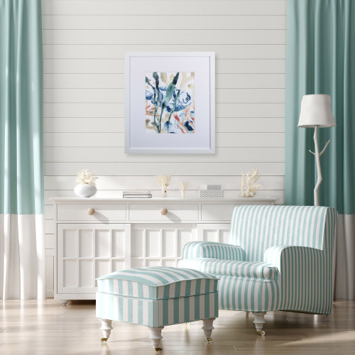 Under The Sea I Wall Art lifestyle