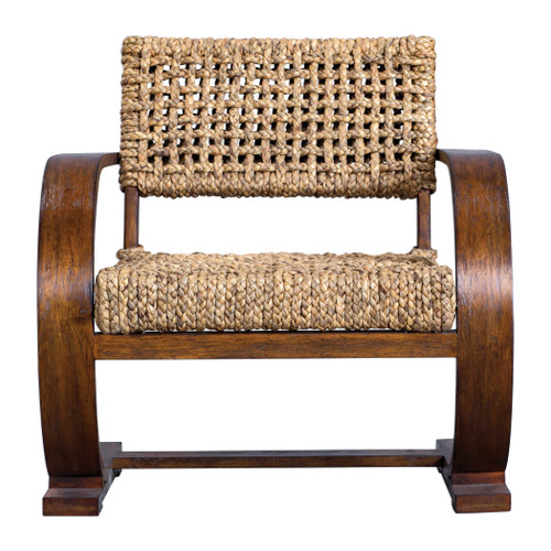 Rehema Natural Woven Accent Chair