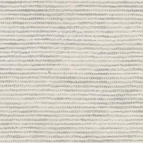 Silver Strada Wool and Viscose Rug close up 1