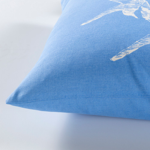 Trio of Gulls Cottage Pillow side view