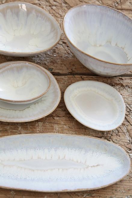 Brisa Salt and Sea Oval Platter lifestyle