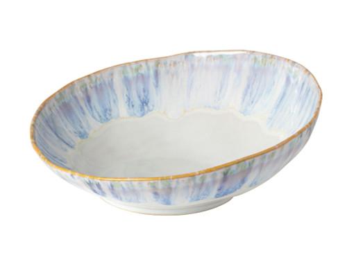 Brisa Ria Blue Round Serving Bowl