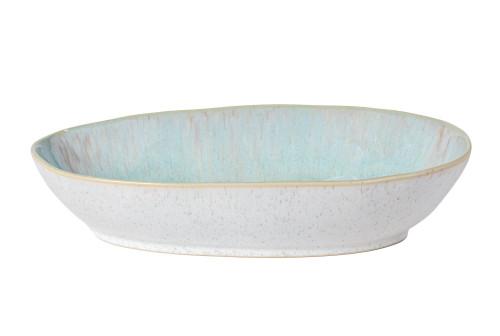Eivissa Sea Aqua Small Oval Baker