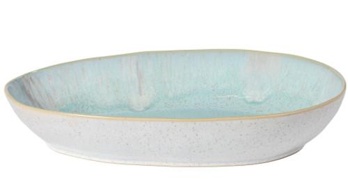 Eivissa Sea Aqua Large Oval Baking Dish