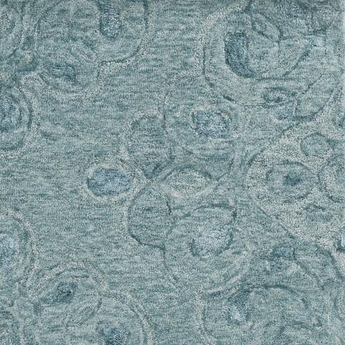 Serenity Seafoam Ashley Luxury Wool Rug close up
