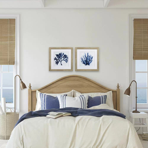 Indigo Blue Coral A- Set of Two lifestyle