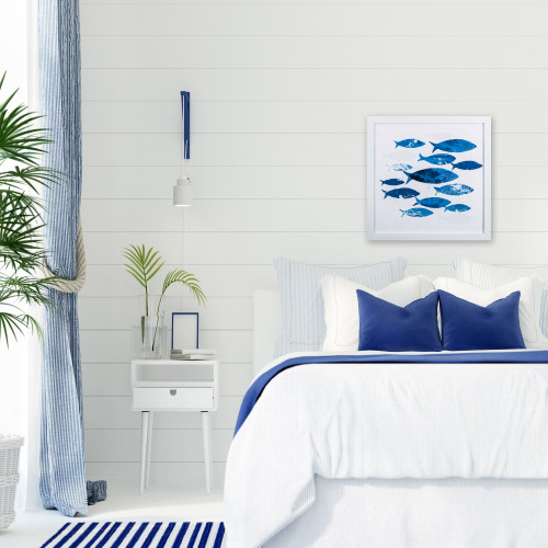 Tropical Blue School of Fish I lifestyle