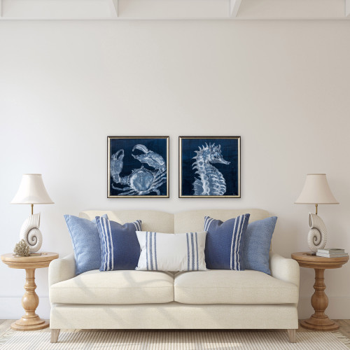 Midnight Sea Creatures- Set of Two lifestyle