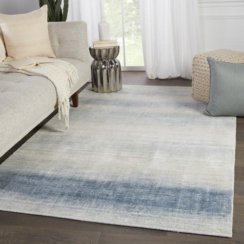 Bayshores Blue Ombre Luxury Rug room view