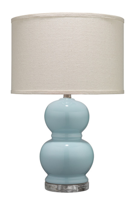 Bubble Table Lamp in Blue