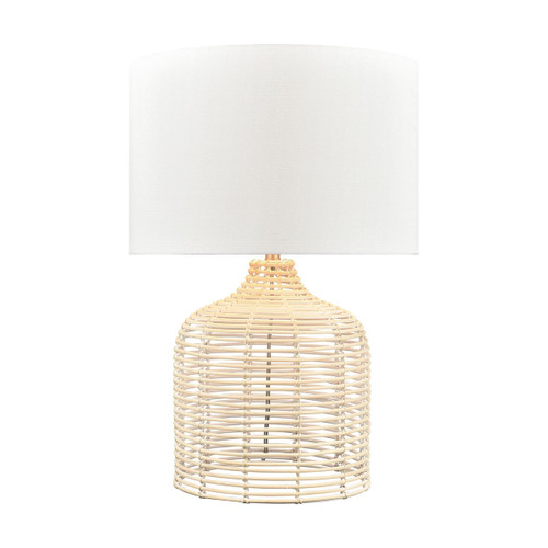 Crawford Cove Woven Rattan Accent Lamp