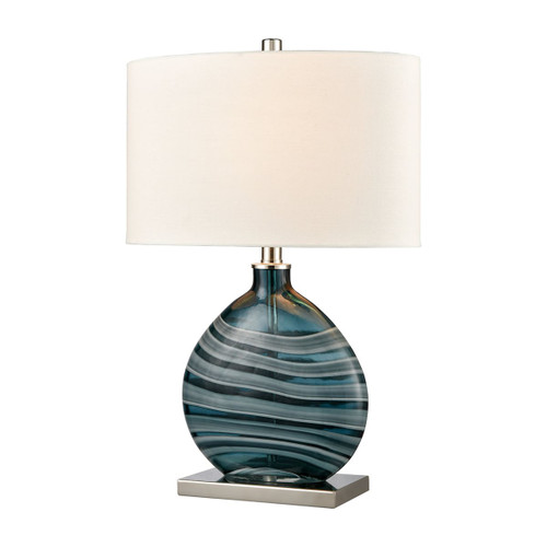 Port View Glass Table Lamp