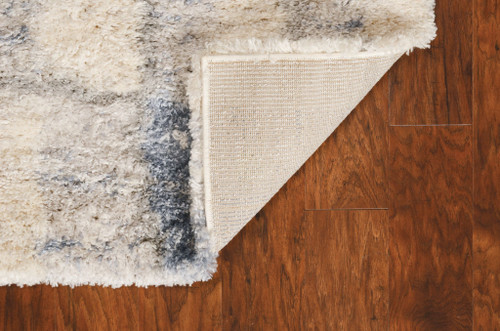City by the Bay Shag Rug backing