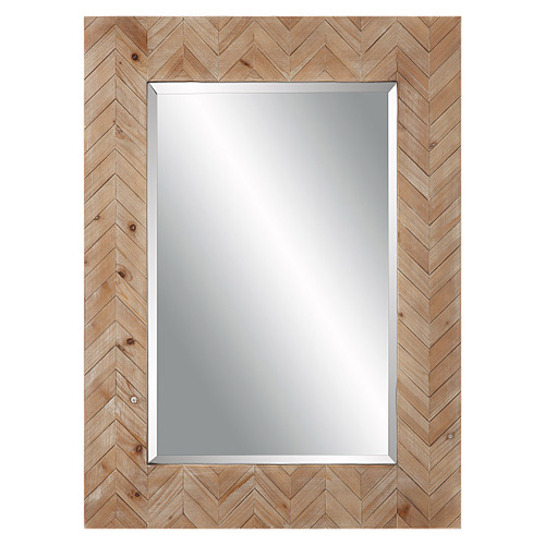Demetria Wooden Framed Mirror