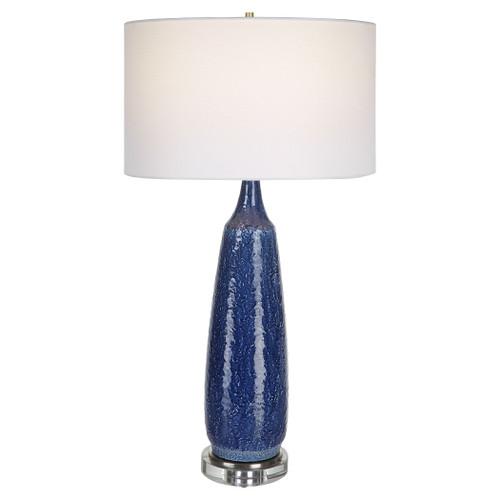 Newport Cobalt Blue Table Lamp