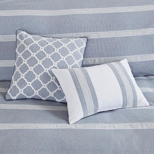 Orcas Isle 8-Piece Comforter Set decorative pillows