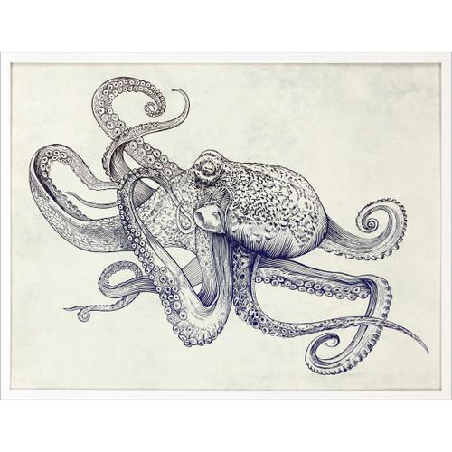 Octoflow Framed Art