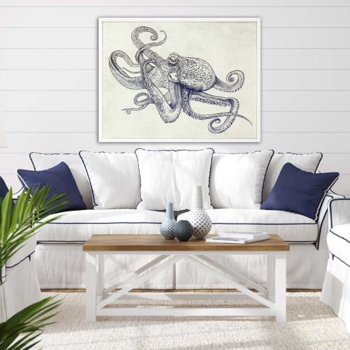 Octoflow Framed Art room example