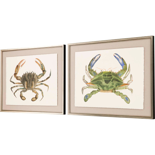 Crab Studies - Set of Two angle view