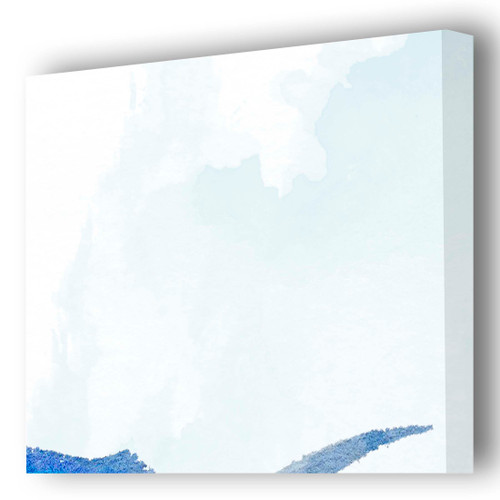 Sailfish Gallery Wrapped Canvas Art close up edge