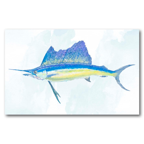 Sailfish Gallery Wrapped Canvas Art